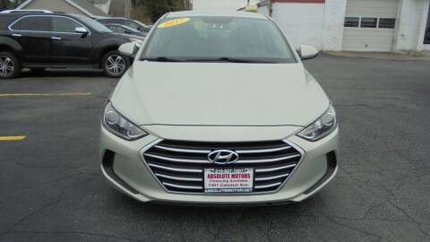 2017 Hyundai Elantra for sale at Absolute Motors in Hammond IN