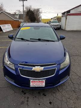 2013 Chevrolet Cruze 1LT Auto for sale at Absolute Motors 2 in Hammond IN