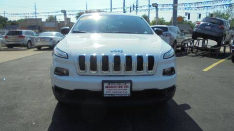 2016 Jeep Cherokee for sale at Absolute Motors in Hammond IN