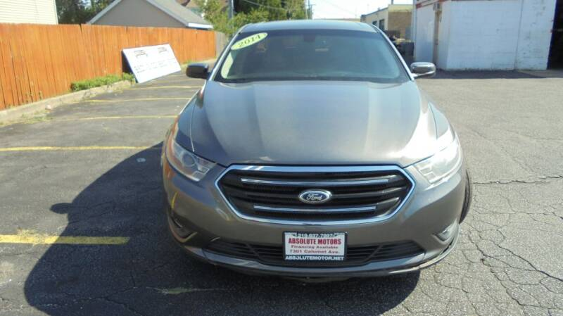 2014 Ford Taurus for sale at Absolute Motors in Hammond IN