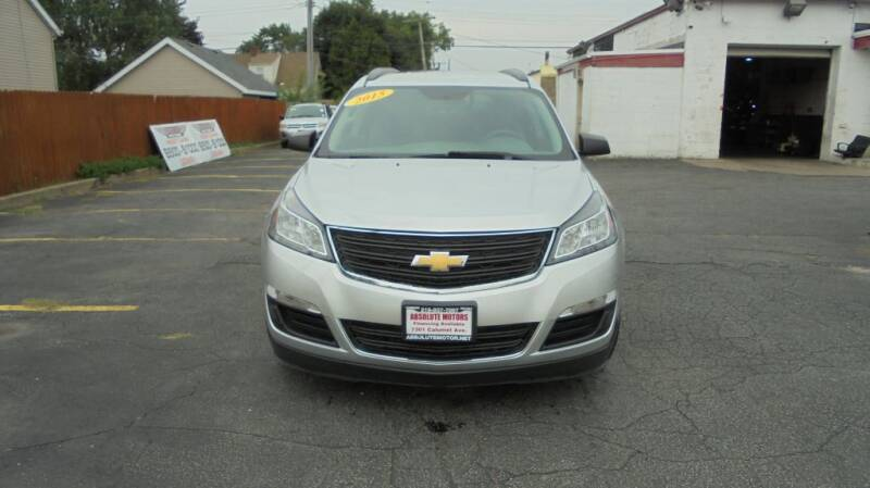 2015 Chevrolet Traverse for sale at Absolute Motors 2 in Hammond IN