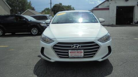 2017 Hyundai Elantra for sale at Absolute Motors 2 in Hammond IN