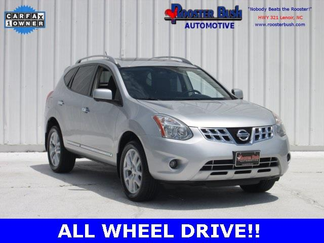 2013 Nissan Rogue for sale at Rooster Bush Automotive in Lenoir NC