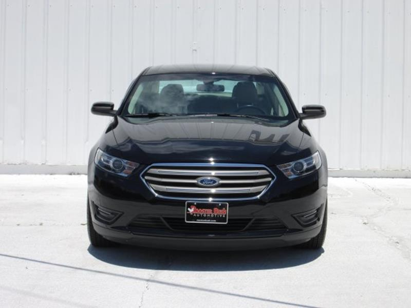2016 Ford Taurus for sale at Rooster Bush Automotive in Lenoir NC