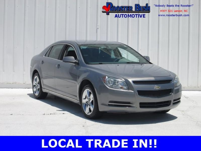 2009 Chevrolet Malibu for sale at Rooster Bush Automotive in Lenoir NC