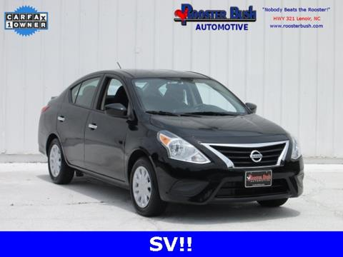2016 Nissan Versa for sale at Rooster Bush Automotive in Lenoir NC