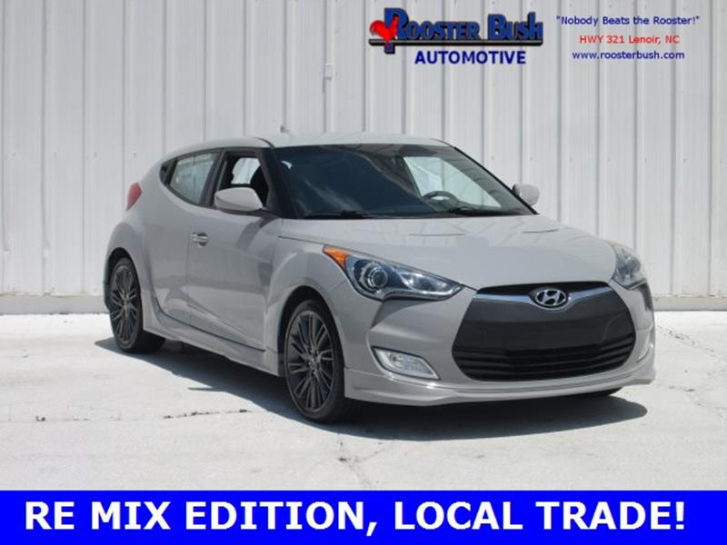 2013 Hyundai Veloster for sale at Rooster Bush Automotive in Lenoir NC