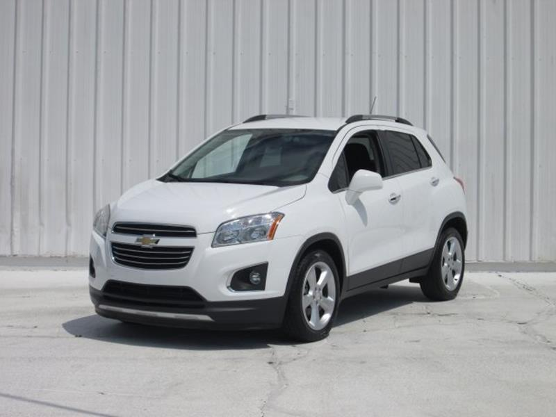 2016 Chevrolet Trax for sale at Rooster Bush Automotive in Lenoir NC