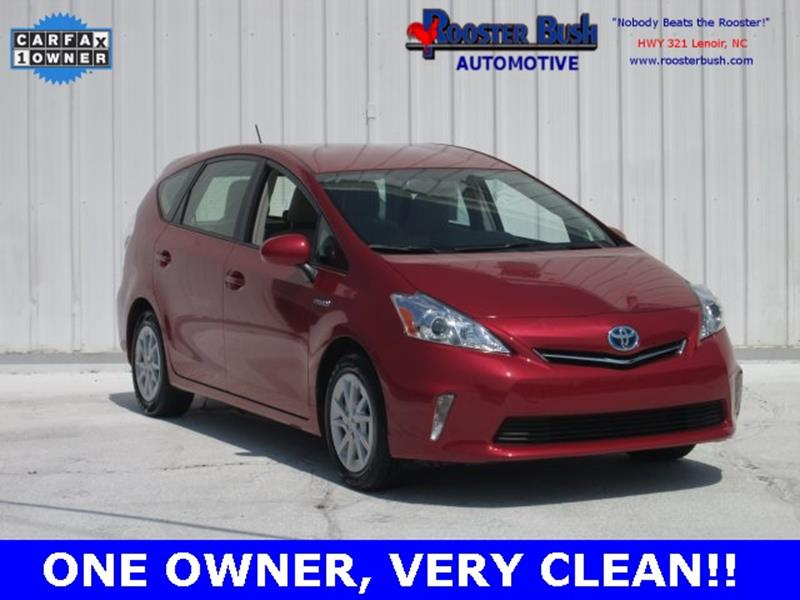 2014 Toyota Prius v for sale at Rooster Bush Automotive in Lenoir NC
