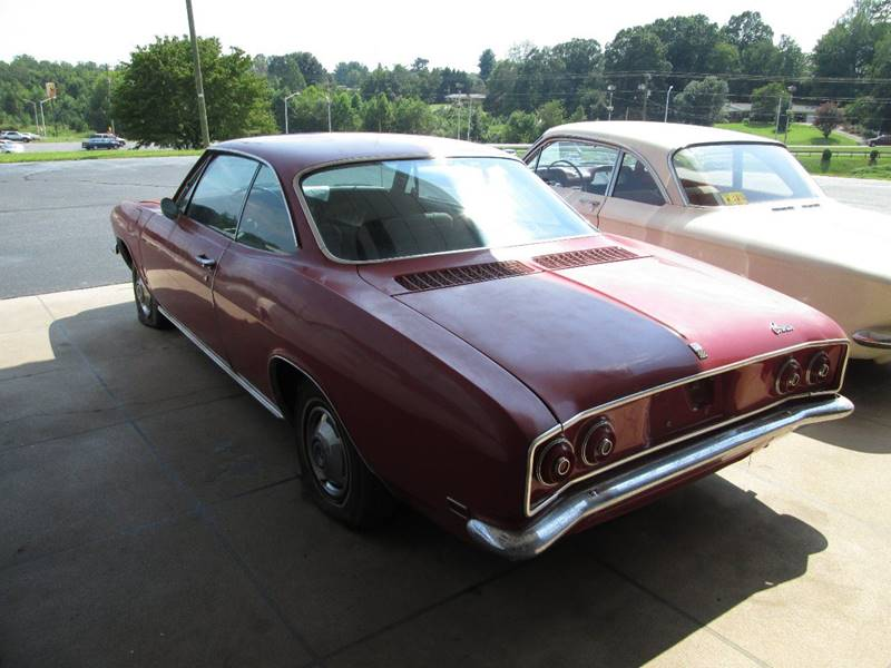 1968 Chevrolet Corvair for sale at Rooster Bush Automotive in Lenoir NC