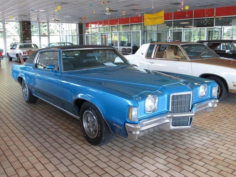 1972 Pontiac Grand Prix for sale at Rooster Bush Automotive in Lenoir NC