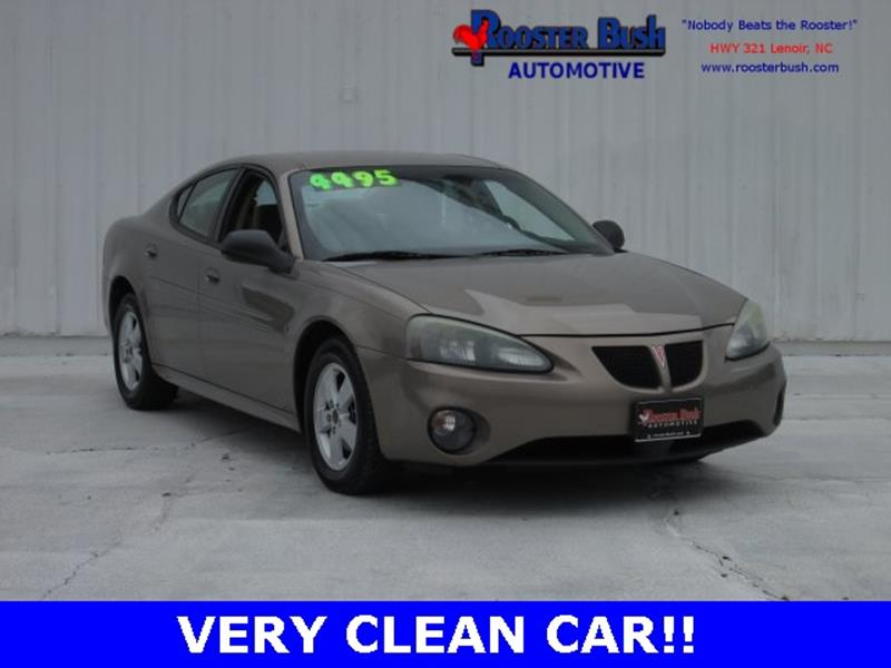 2006 Pontiac Grand Prix for sale at Rooster Bush Automotive in Lenoir NC