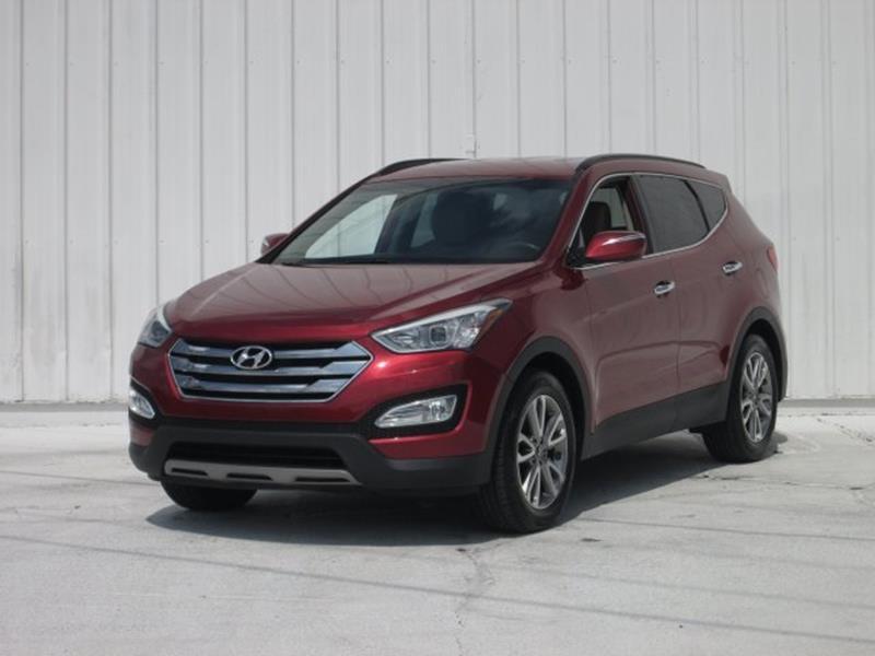 2014 Hyundai Santa Fe Sport for sale at Rooster Bush Automotive in Lenoir NC