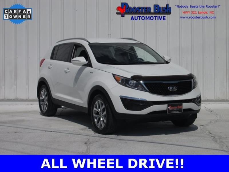2015 Kia Sportage for sale at Rooster Bush Automotive in Lenoir NC