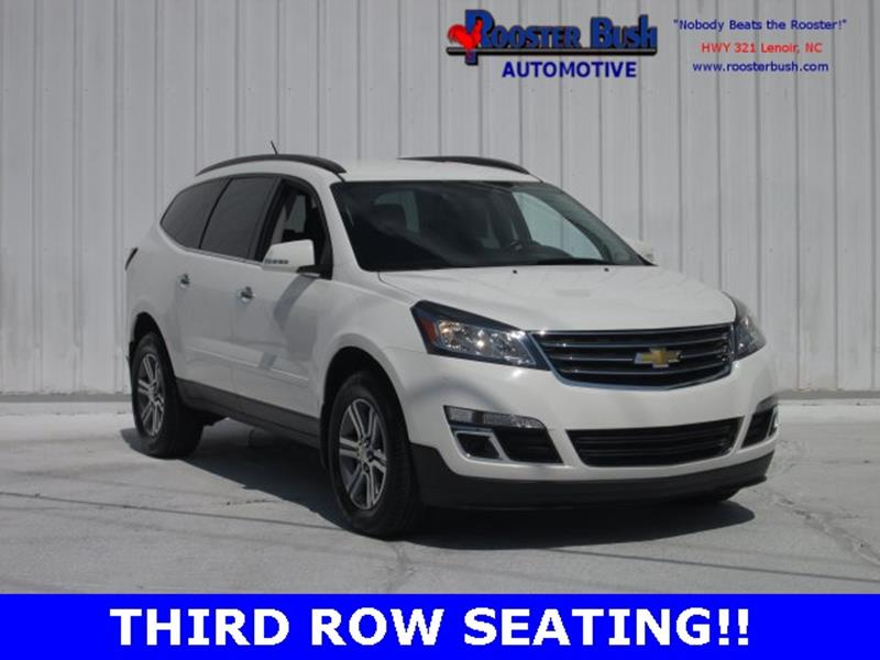 2015 Chevrolet Traverse for sale at Rooster Bush Automotive in Lenoir NC