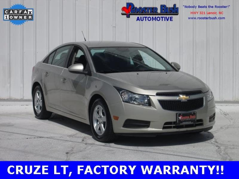 2014 Chevrolet Cruze for sale at Rooster Bush Automotive in Lenoir NC