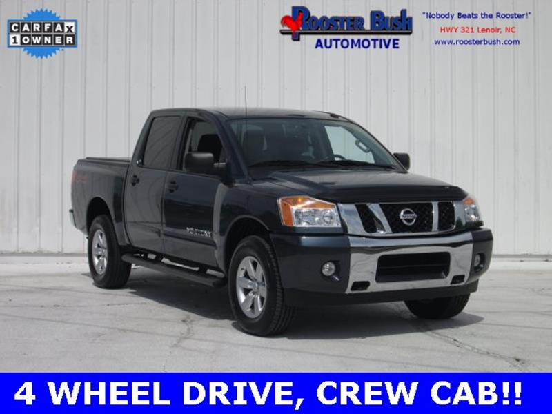 2014 Nissan Titan for sale at Rooster Bush Automotive in Lenoir NC