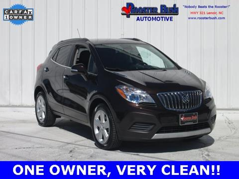 2015 Buick Encore for sale at Rooster Bush Automotive in Lenoir NC