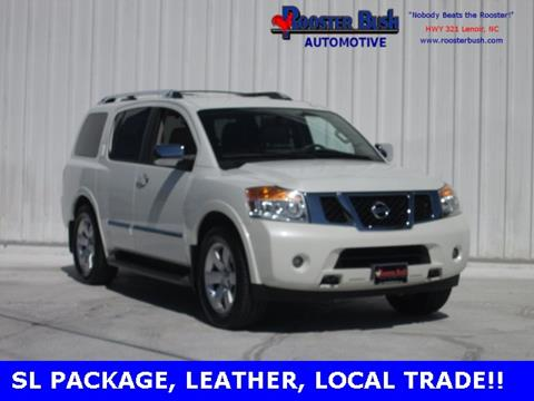2014 Nissan Armada for sale at Rooster Bush Automotive in Lenoir NC