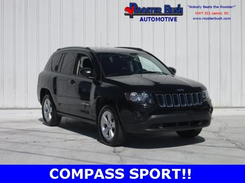 2016 Jeep Compass for sale at Rooster Bush Automotive in Lenoir NC