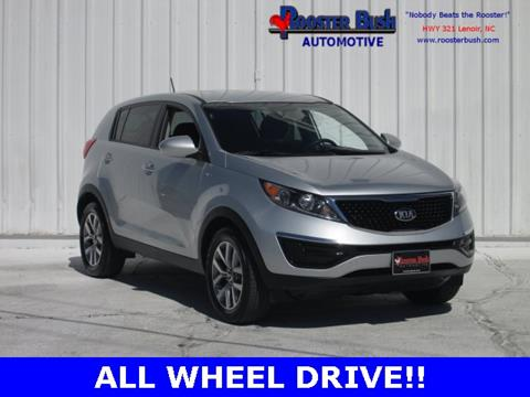 2016 Kia Sportage for sale at Rooster Bush Automotive in Lenoir NC