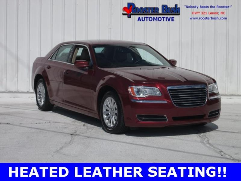 2014 Chrysler 300 for sale at Rooster Bush Automotive in Lenoir NC