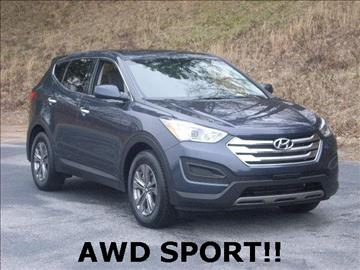 2015 Hyundai Santa Fe Sport for sale at Rooster Bush Automotive in Lenoir NC