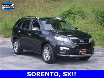 2013 Kia Sorento for sale at Rooster Bush Automotive in Lenoir NC