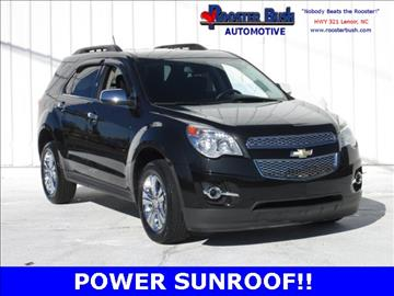 2013 Chevrolet Equinox for sale at Rooster Bush Automotive in Lenoir NC