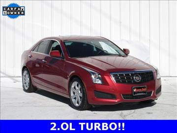 2013 Cadillac ATS for sale at Rooster Bush Automotive in Lenoir NC