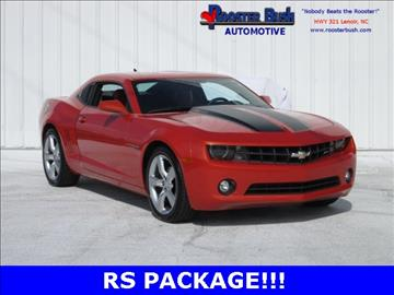 2011 Chevrolet Camaro for sale at Rooster Bush Automotive in Lenoir NC