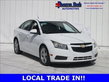2012 Chevrolet Cruze for sale at Rooster Bush Automotive in Lenoir NC