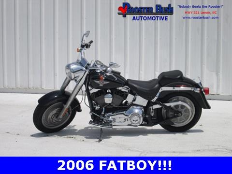 2006 Harley-Davidson FLSTF for sale at Rooster Bush Automotive in Lenoir NC