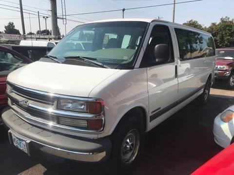 2001 Chevrolet Express Passenger for sale in Portland, OR