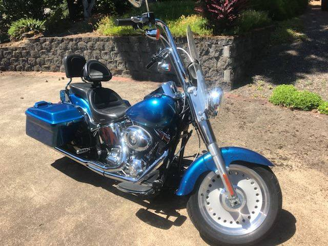 2007 harley davidson fatboy for sale at Chuck Wise Motors in Portland OR