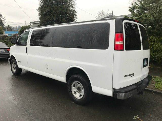 abf11550a75d23 2006 Gmc Savana Passenger LS 3500 3dr Extended Passenger Van In ...