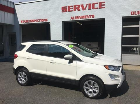 2018 Ford EcoSport for sale in Uxbridge, MA