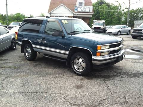 1995 Chevrolet Tahoe for sale at ANGELO'S AUTO SALES in New Castle DE