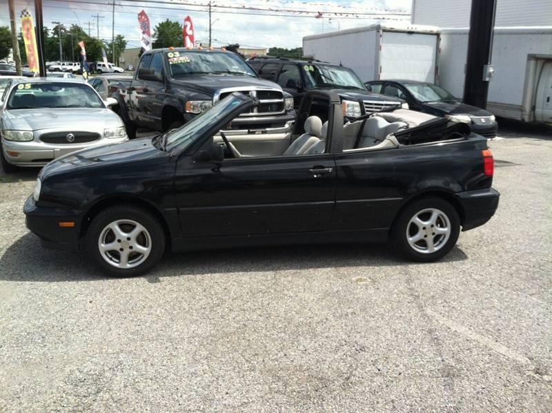 1998 Volkswagen Cabrio for sale at ANGELO'S AUTO SALES in New Castle DE