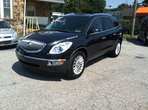 2011 Buick Enclave for sale at ANGELO'S AUTO SALES in New Castle DE