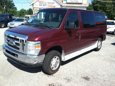 2008 Ford E-Series Wagon for sale at ANGELO'S AUTO SALES in New Castle DE