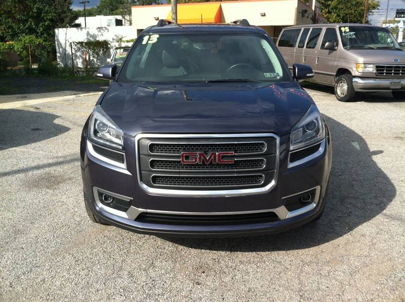 2013 GMC Acadia for sale at ANGELO'S AUTO SALES in New Castle DE