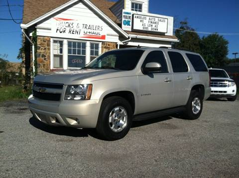 2007 Chevrolet Tahoe for sale at ANGELO'S AUTO SALES in New Castle DE