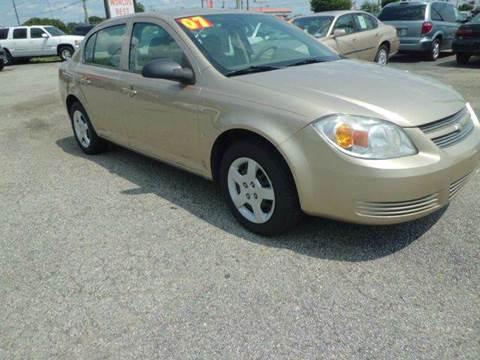 2007 Chevrolet Cobalt for sale at ANGELO'S AUTO SALES in New Castle DE