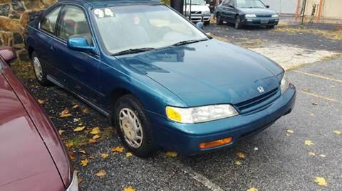 1994 Honda Accord for sale at ANGELO'S AUTO SALES in New Castle DE