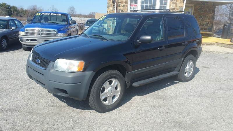 2003 Ford Escape for sale at ANGELO'S AUTO SALES in New Castle DE