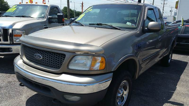 2001 Ford F-150 for sale at ANGELO'S AUTO SALES in New Castle DE