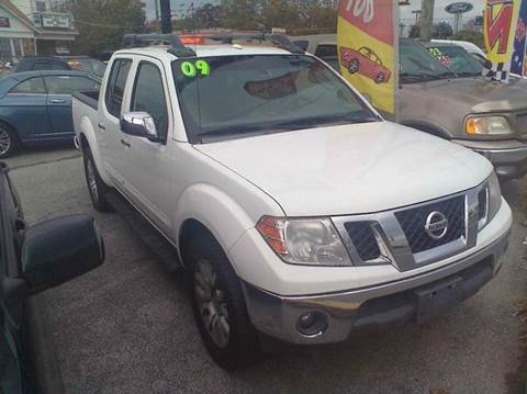2009 Nissan Frontier for sale at ANGELO'S AUTO SALES in New Castle DE