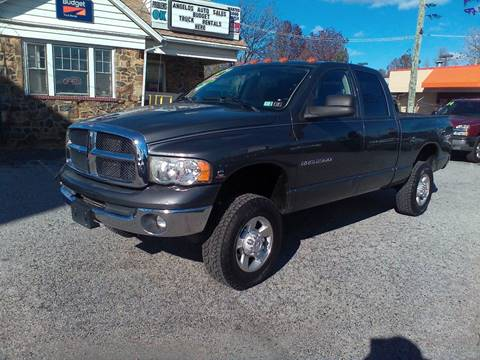 2003 Dodge Ram Pickup 2500 for sale at ANGELO'S AUTO SALES in New Castle DE