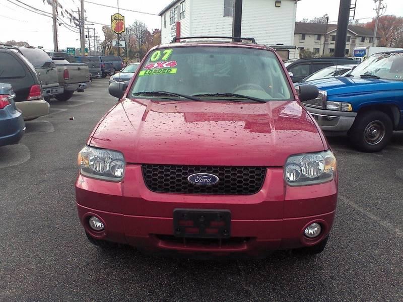 2007 Ford Escape for sale at ANGELO'S AUTO SALES in New Castle DE